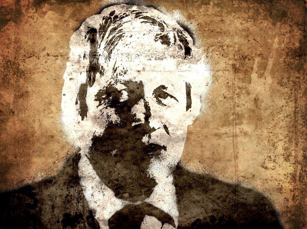 Boris Johnson art drawing